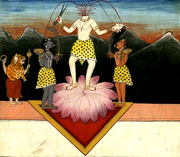 The Goddess Chinnamasta